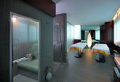 Aristos wellness massage room for two with private steam