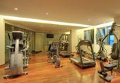 Fitness studio for hotel guest