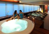 Whirlpool in spa zone of Aristos wellness Zagreb