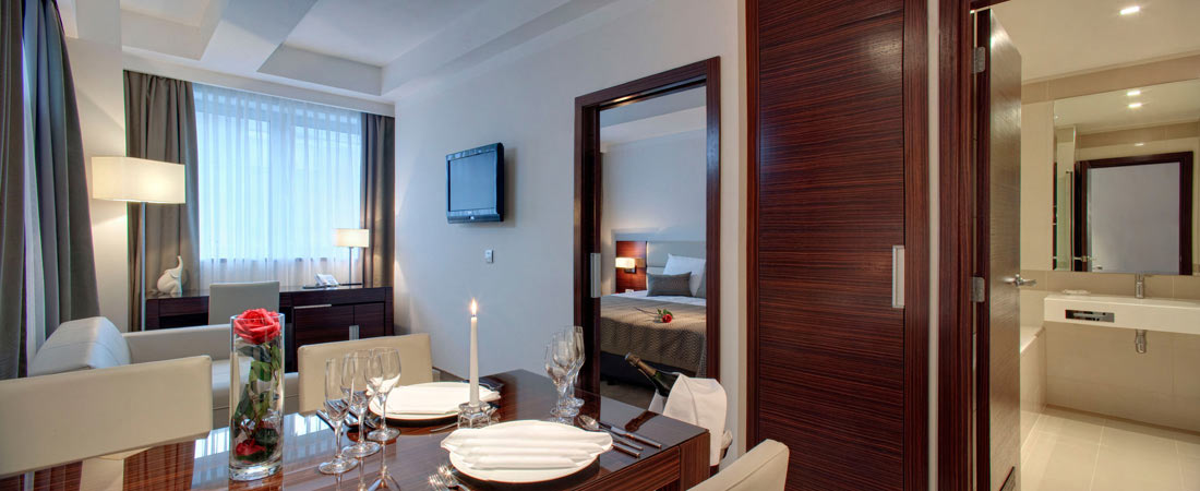 Accommodation In Deluxe Rooms In Zagreb Aristos